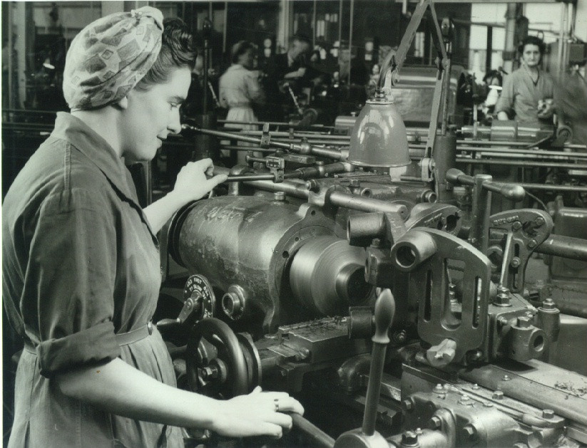 Image of Templeborough steelworks WW2