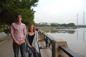 Image of Richard and Bridget Pearson in China