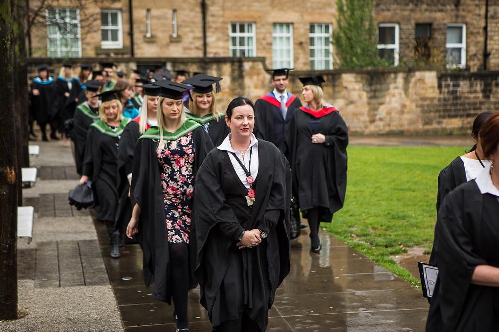 Image of Graduate procession