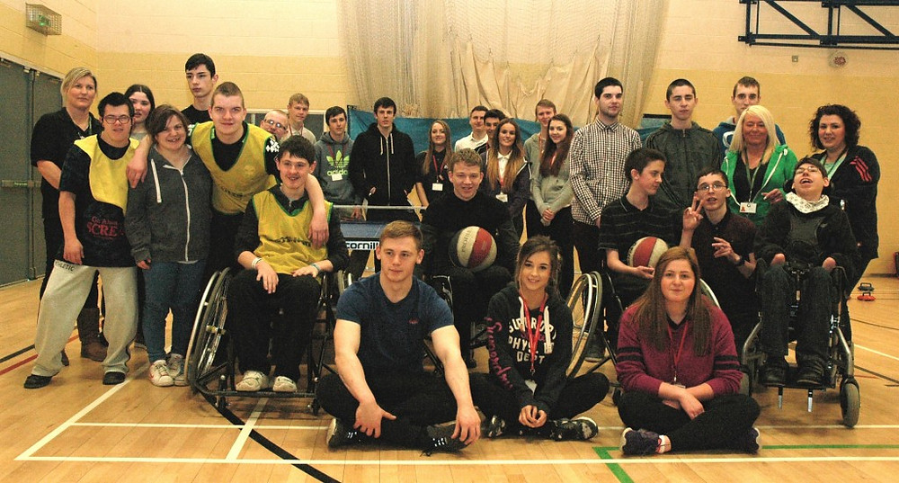 Image of Greenacre School Disabled Sports Students