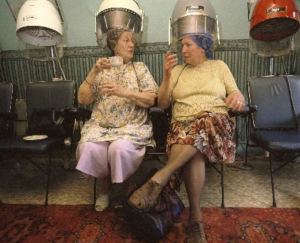 Photo © Honey Salvadori Traditional Hairdresser in Nottingham 1996