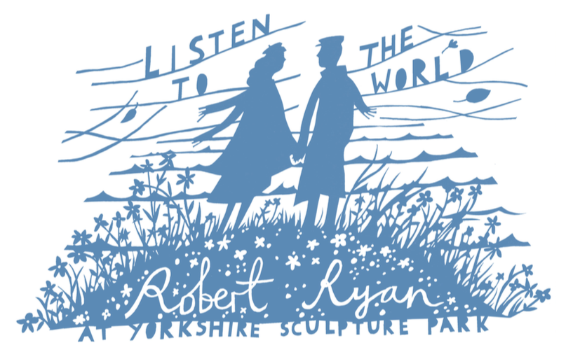 Promo Image for 'Listen To the World' by Rob Ryan