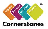 Cornerstones Logo and link to website