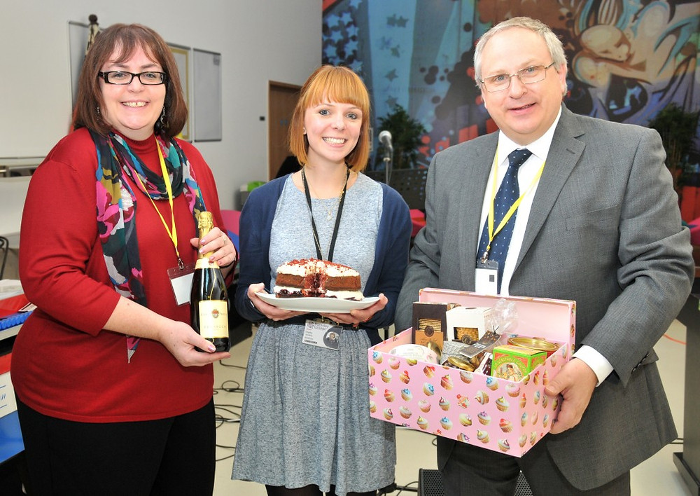 Picture of Barnsley College Bake Off - Josie, Hayley and John