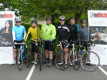 Bike Ride for EnRich Charity Brings Back Memories