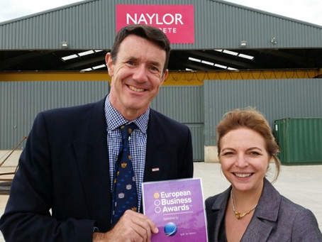 Naylor Industries Wins for United Kingdom in Prestigious Awards Competition