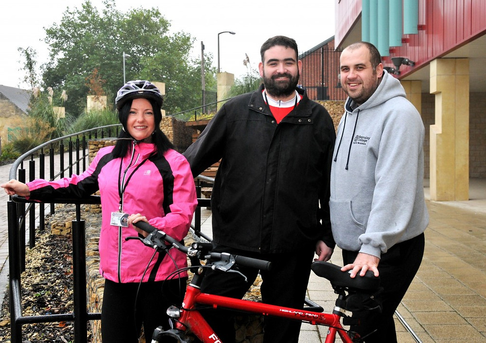 Image of three of the bikers