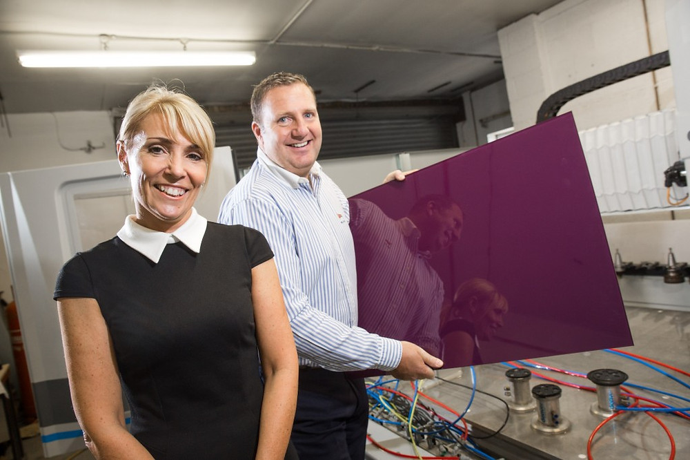 Image of Janette and Andrew Rawson of Royston Glass