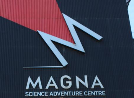Bird's eye view of Magna