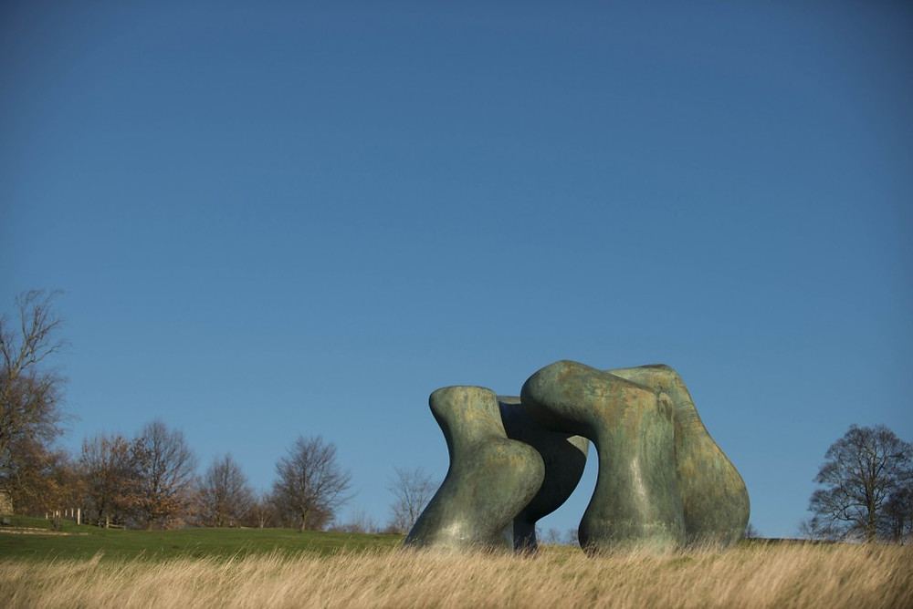Image of Large Two Form by Henry Moore at Yorkshire Sculpture Park