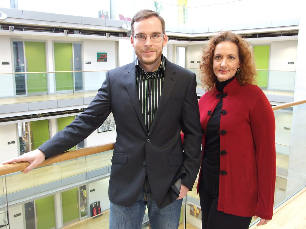 Image of Peter Wright and Heather Anson of Digital Law