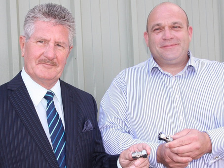Barnsley Inventor's New Plumbing Product Snapped up by B&Q