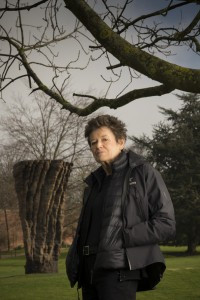 Image of Ursula von Rydingsvard at Yorkshire Sculpture Park