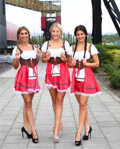 Picture of Oktoberfest serving lasses
