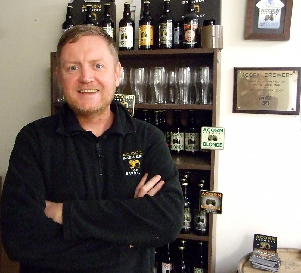 Image of Paul Hicks of Acorn Brewery
