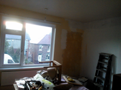 The culprit and its 80 year old plaster!