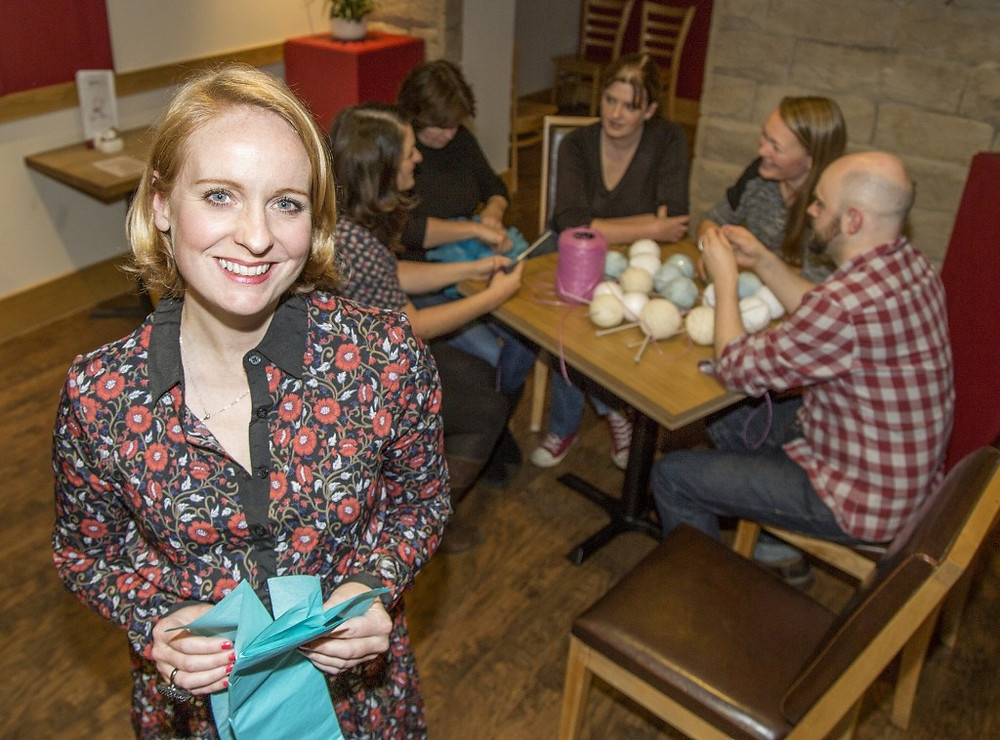 Image of Steph Cronin at Crafty Business
