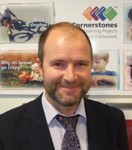 Picture of Managing director of Cornerstones Simon Hickton