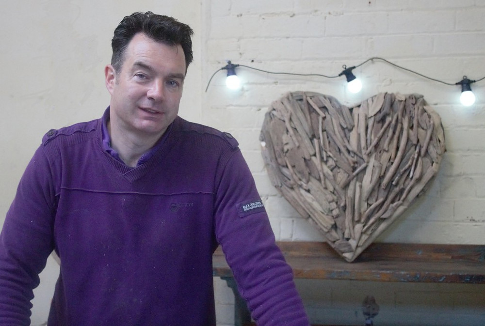 Picture of Clive Leacock of Love Wood Furniture