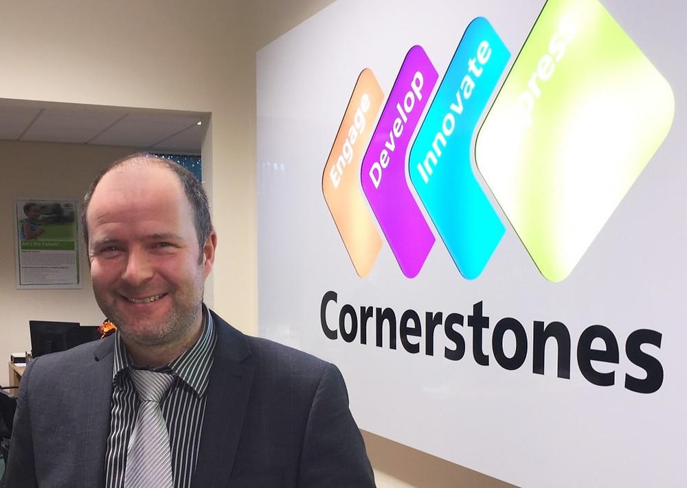 Picture of Simon Hickton - Managing Director of Cornerstones