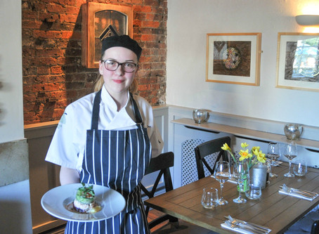 Jessica Carves Out Catering Career