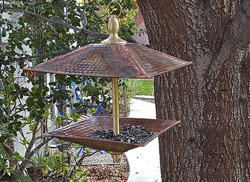 Square Bird Feeder (Square Bird Feeder)
