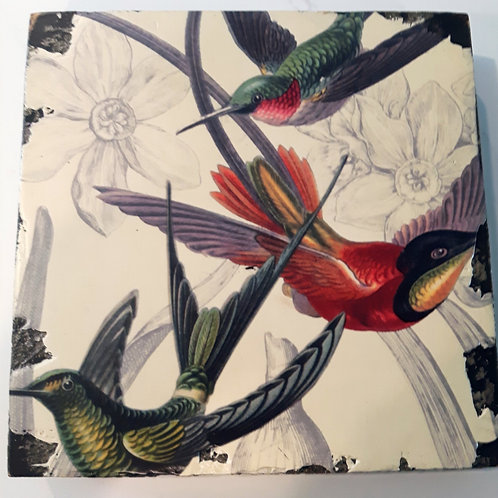 Hummingbird Art Block