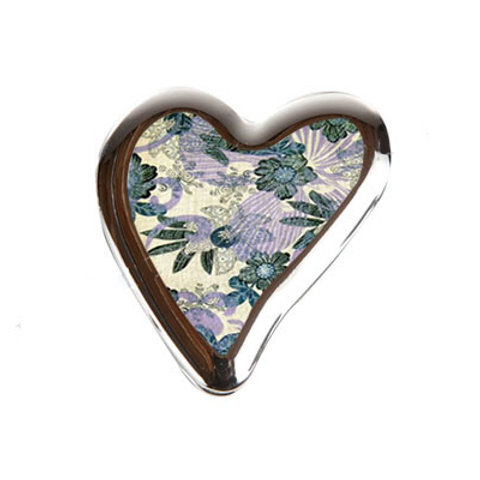 Abstract Heart Flowers Foldable Purse Hook