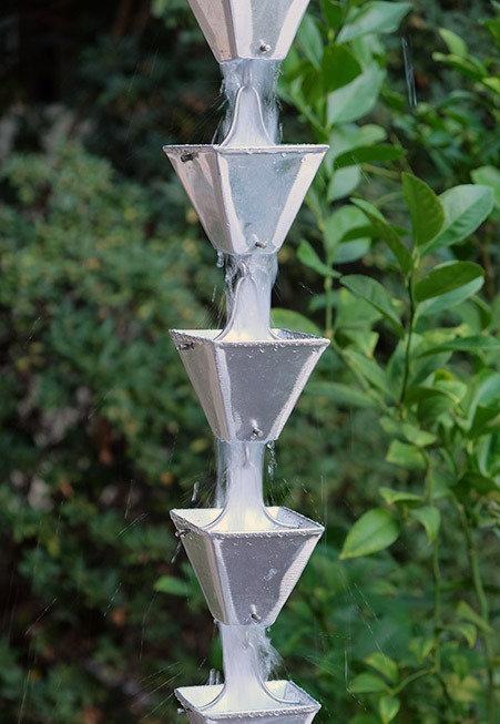 Med Square Cups Aluminum