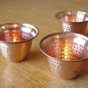 Copper Bells Tea Light Holder