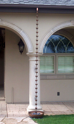 Lily Flower Rain Chain