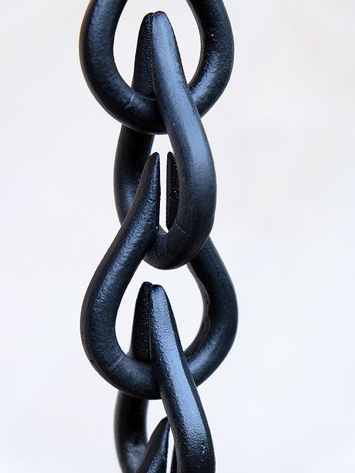 Droplet Links - Black or Bronze (9' IN STOCK)