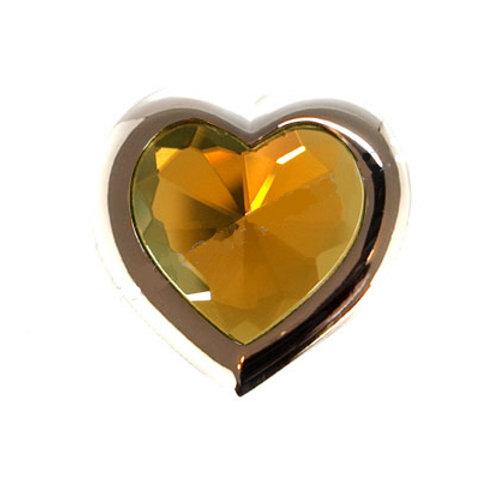 Heart Amber Foldable Purse Hook