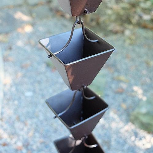 Medium Square Cups Bronze