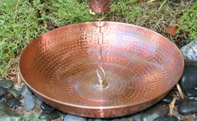 Hammered Bowl Copper