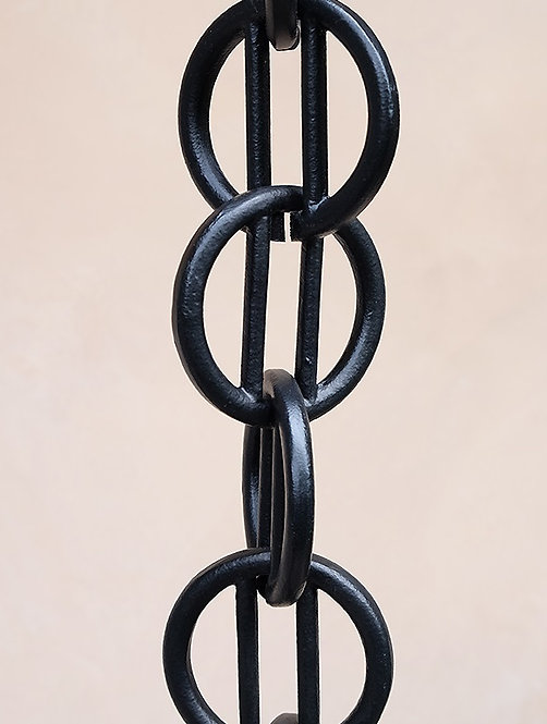 Zen Links -Hand Cast Black or Bronze