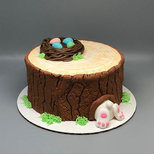 Take and Make Cake- Bunny Stump