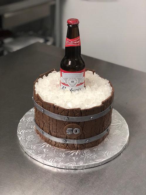 Take and Make Cake Beer Barrel