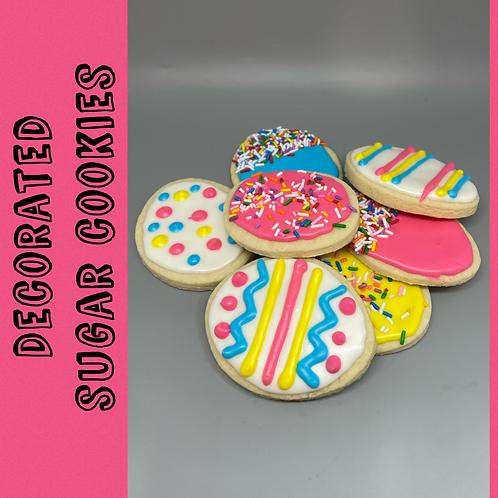 Sugar Cookies - 5 pack