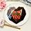"Thumbnail: 8"" Heart Piñata Smash Cake"