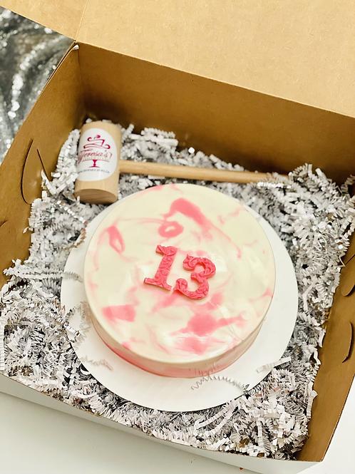 """6"""" Piñata Smash Cake"""