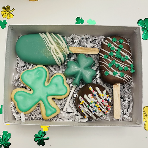 Lucky You treat box - St Patricks Day