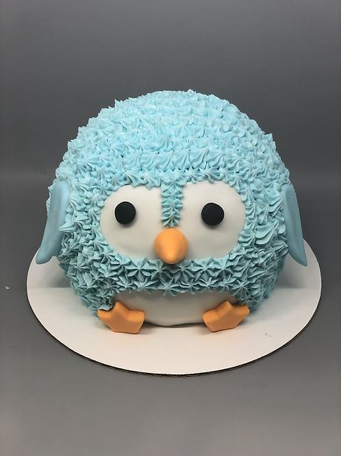 Take and Make Cake - Penguin Buttercream