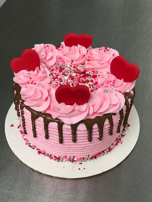 Take and Make Cake -Valentine Drip Cake