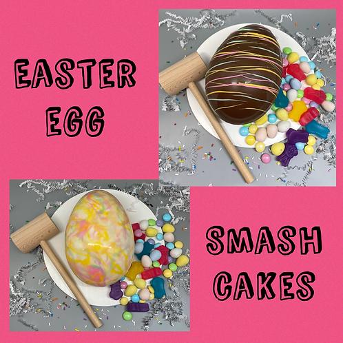 Easter Egg Smash Pinata Cake