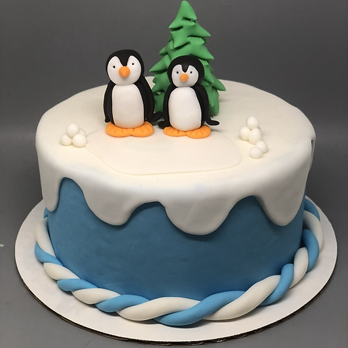 Take and Make Cake - Skating Penguins