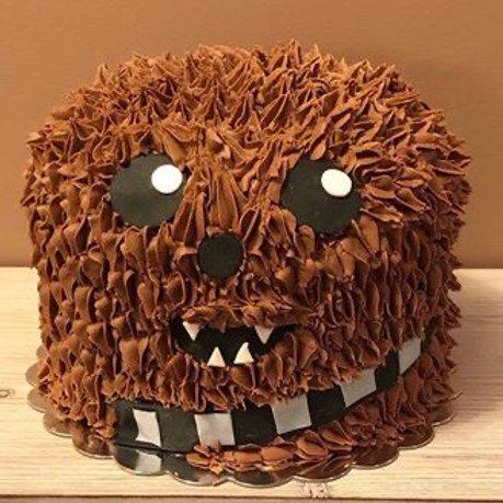 Take and Make Cake - Chewbacca