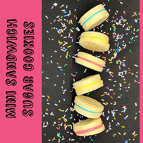 Sandwich Sugar Cookies - 6 pack