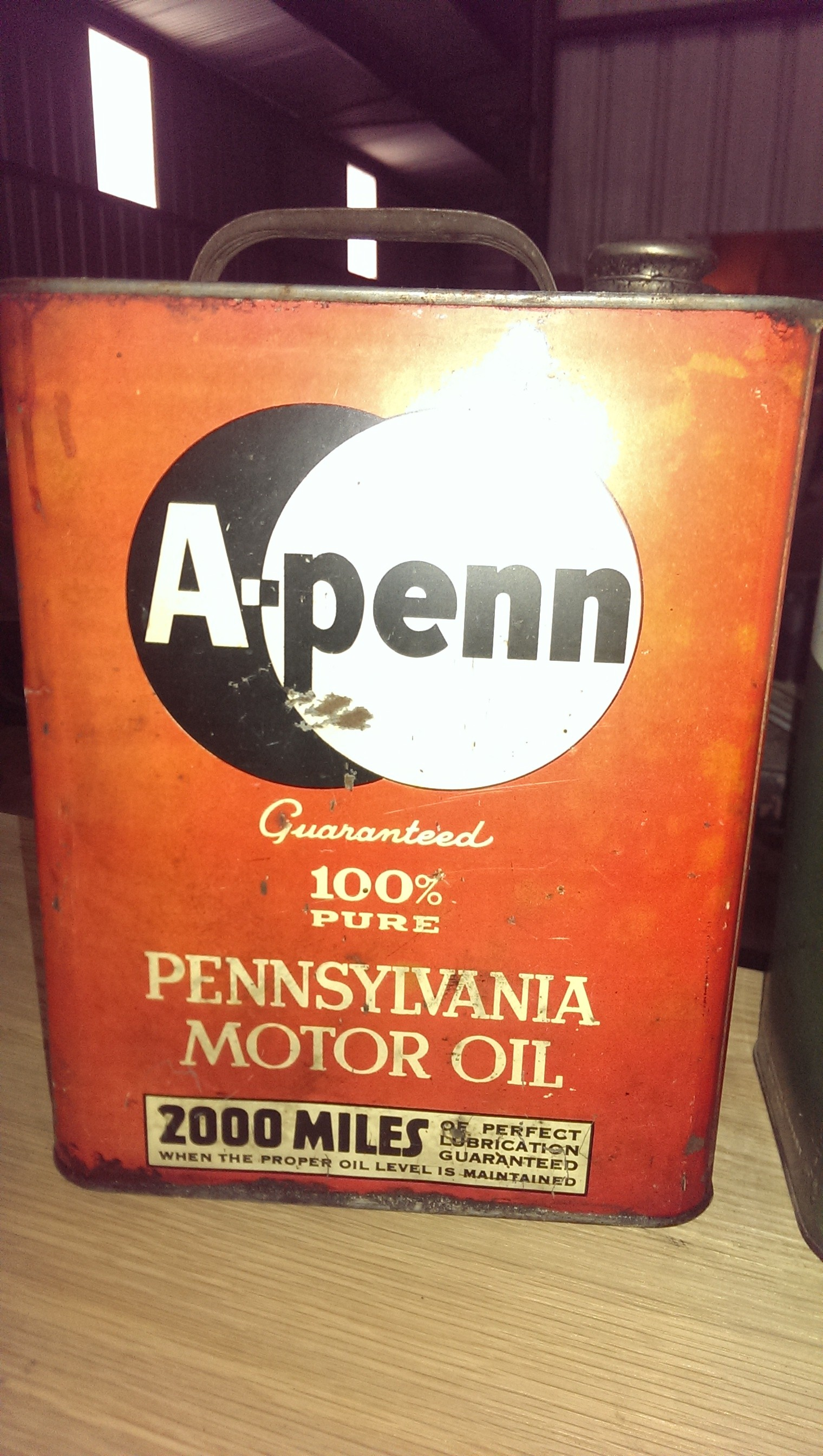 Oil Can A-penn