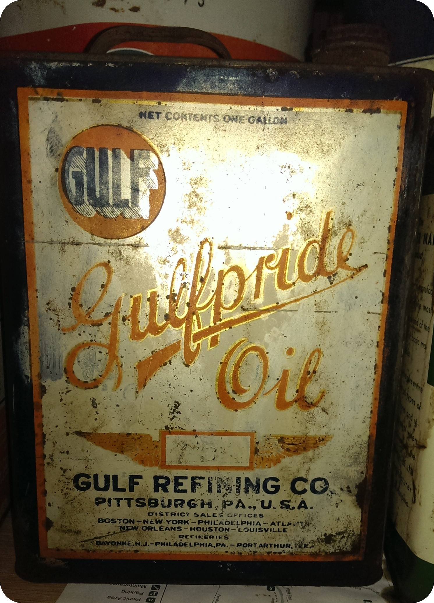 Oil Can Gulfpride